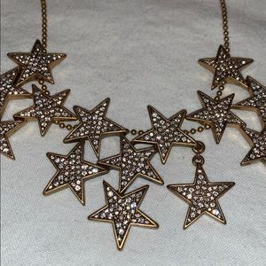 J. Crew Jewelry - Jcrew star necklace set in gold
